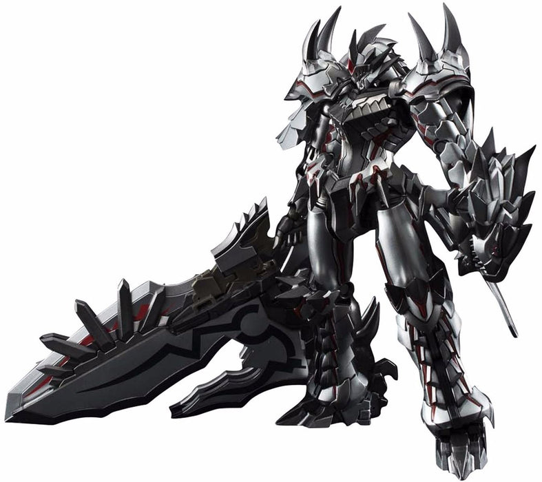 CHOGOKIN MONSTER HUNTER Class G Transformation LIOLAEUS Weathering Silver Japan_1