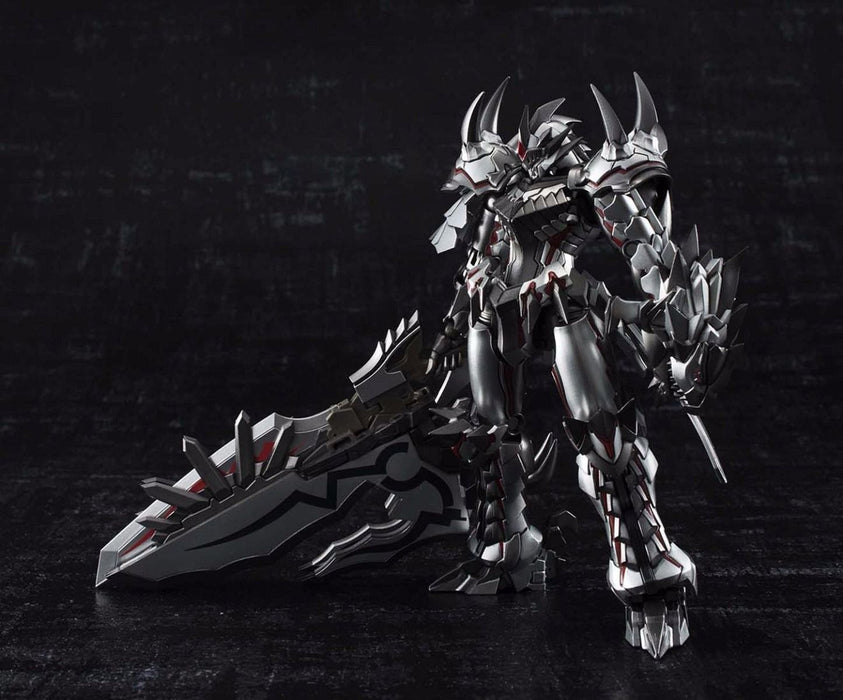 CHOGOKIN MONSTER HUNTER Class G Transformation LIOLAEUS Weathering Silver Japan_2