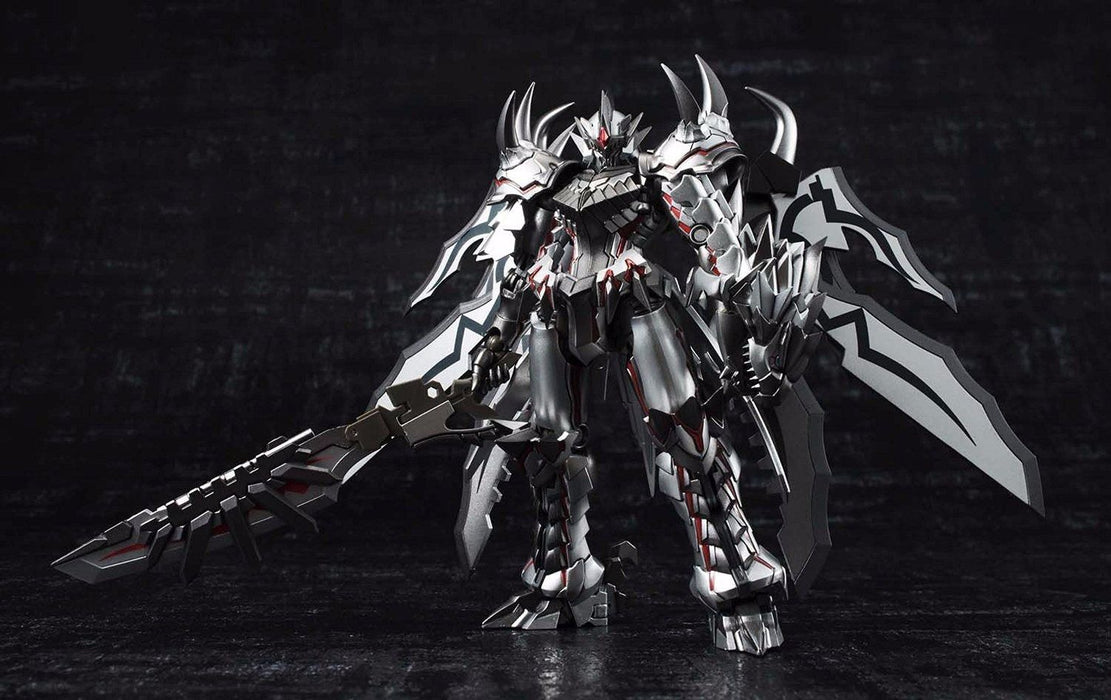 CHOGOKIN MONSTER HUNTER Class G Transformation LIOLAEUS Weathering Silver Japan_3