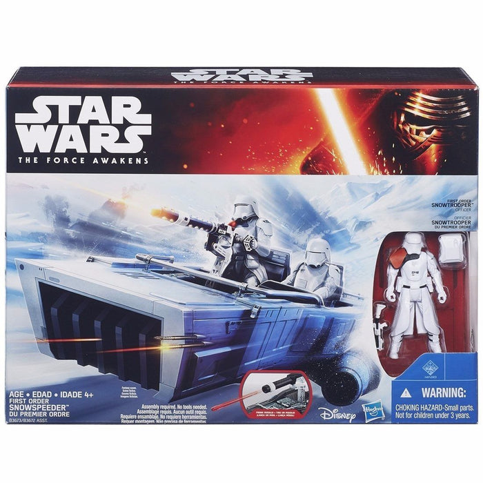 STAR WARS The Force Awakens Mid Vehicle SNOWSPEEDER TAKARA TOMY from Japan_2
