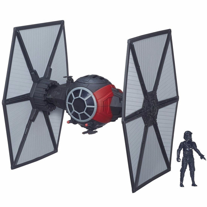 STAR WARS Force Awakens Vehicle FIRST ORDER SPECIAL FORCE TIE FIGHTER TAKARA_1