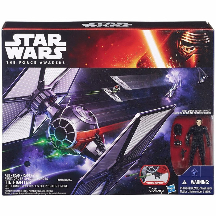 STAR WARS Force Awakens Vehicle FIRST ORDER SPECIAL FORCE TIE FIGHTER TAKARA_2
