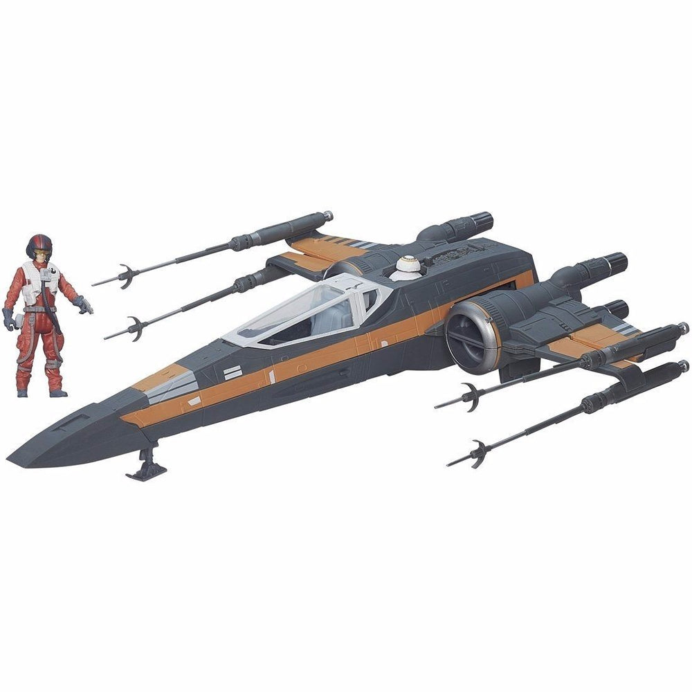 STAR WARS Force Awakens Large Vehicle POE DAMERON'S X-WING STARFIGHTER TAKARA_1