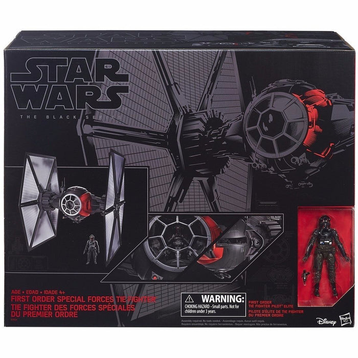 STAR WARS BLACK Series Vehicle FIRST ORDER SPECIAL FORCE TIE FIGHTER TAKARA TOMY_2