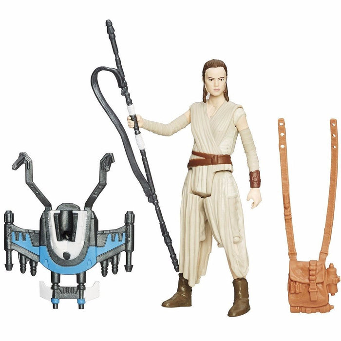 STAR WARS THE FORCE AWAKENS BASIC FIGURE REY TAKARA TOMY from Japan_1