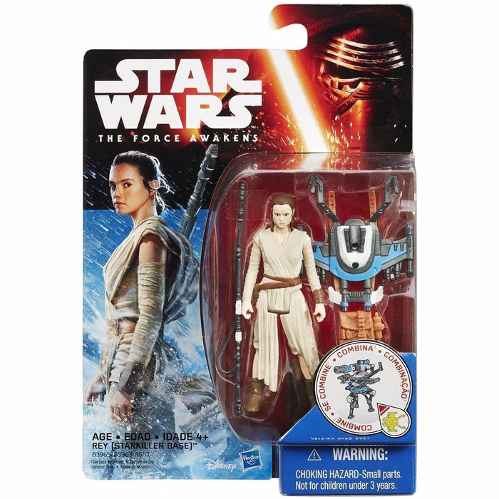 STAR WARS THE FORCE AWAKENS BASIC FIGURE REY TAKARA TOMY from Japan_2