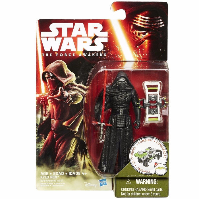 STAR WARS THE FORCE AWAKENS BASIC FIGURE KYLO REN TAKARA TOMY from Japan_2