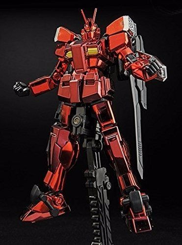 BANDAI HGBF 1/144 GUNDAM AMZING RED WARRIOR FULL COLOR PLATING Ver Model Kit NEW_4