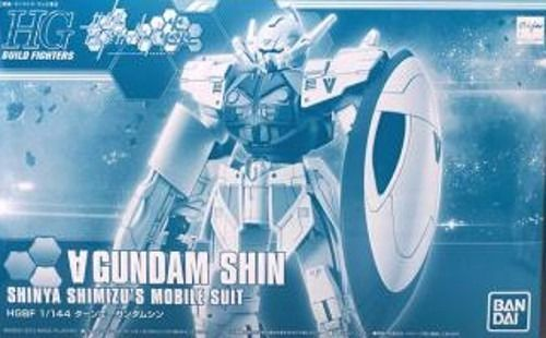 BANDAI HGBF 1/144 TURN A GUNDAM SHIN Plastic Model Kit Gundam Build Fighters NEW_1