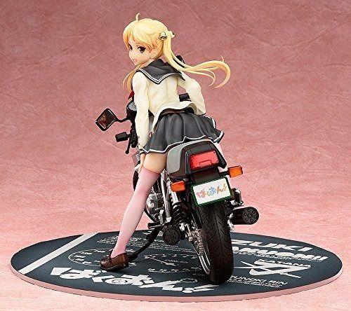 Bakuon!! Rin Suzunoki & GSX400S Katana 1/10 PVC Figure Phat! NEW from Japan_3