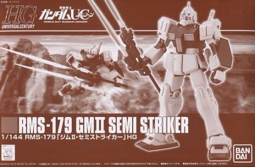 BANDAI HGUC 1/144 RMS-179 GM II SEMI STRIKER Plastic Model Kit Gundam UC NEW_1