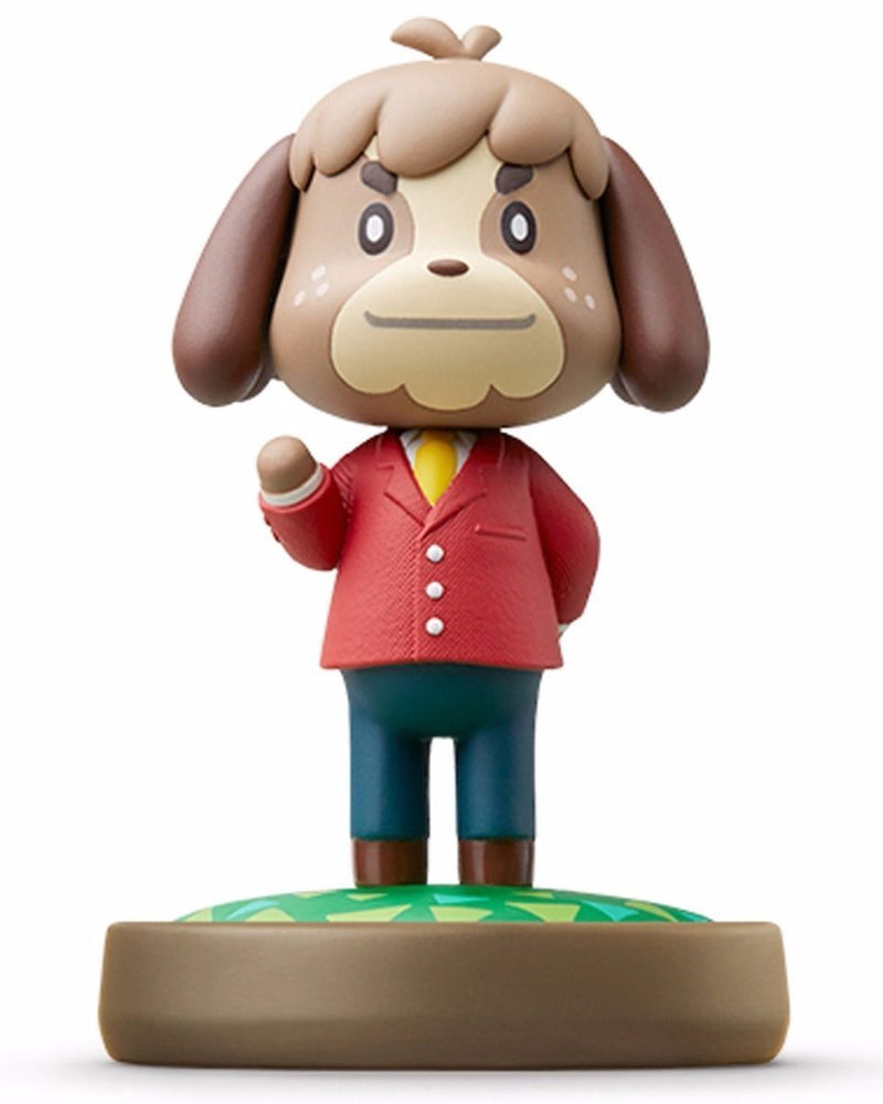 Nintendo amiibo DIGBY (KENTO) Animal Crossing 3DS Wii U Accessories NEW Japan_1