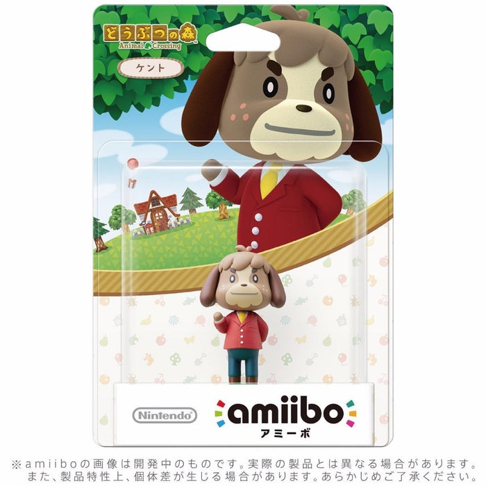 Nintendo amiibo DIGBY (KENTO) Animal Crossing 3DS Wii U Accessories NEW Japan_2