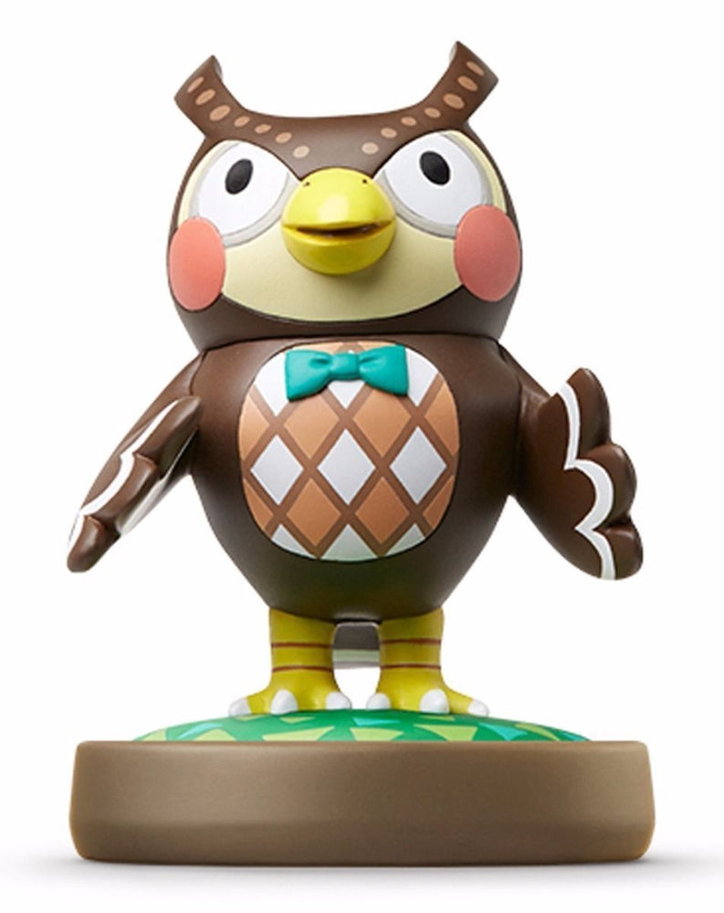 Nintendo amiibo BLATHERS (Futa) Animal Crossing 3DS Wii U Accessories NEW Japan_1