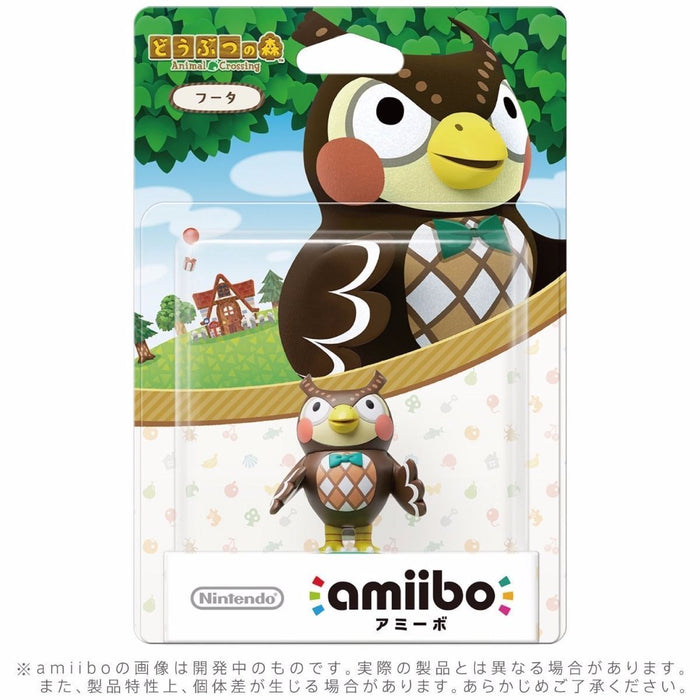Nintendo amiibo BLATHERS (Futa) Animal Crossing 3DS Wii U Accessories NEW Japan_2