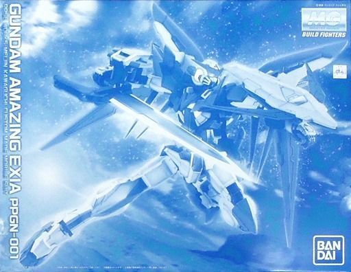 BANDAI MG 1/100 PPGN-001 GUNDAM AMAZING EXIA Plastic Model Kit Limited NEW Japan_1