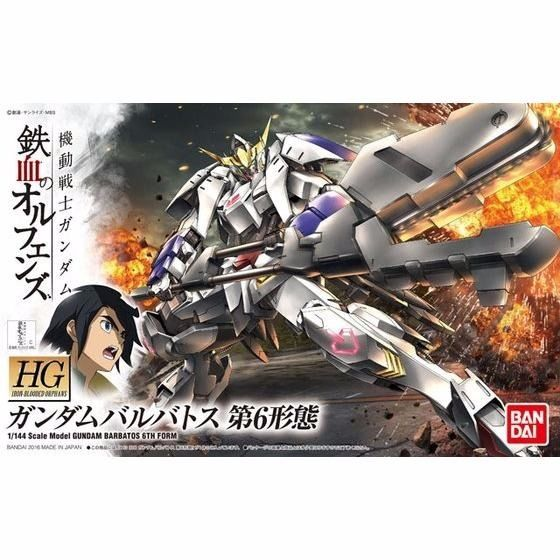 BANDAI HG 1/144 GUNDAM BARBATOS 6TH FORM Model Kit Iron-Blooded Orphans NEW F/S_1