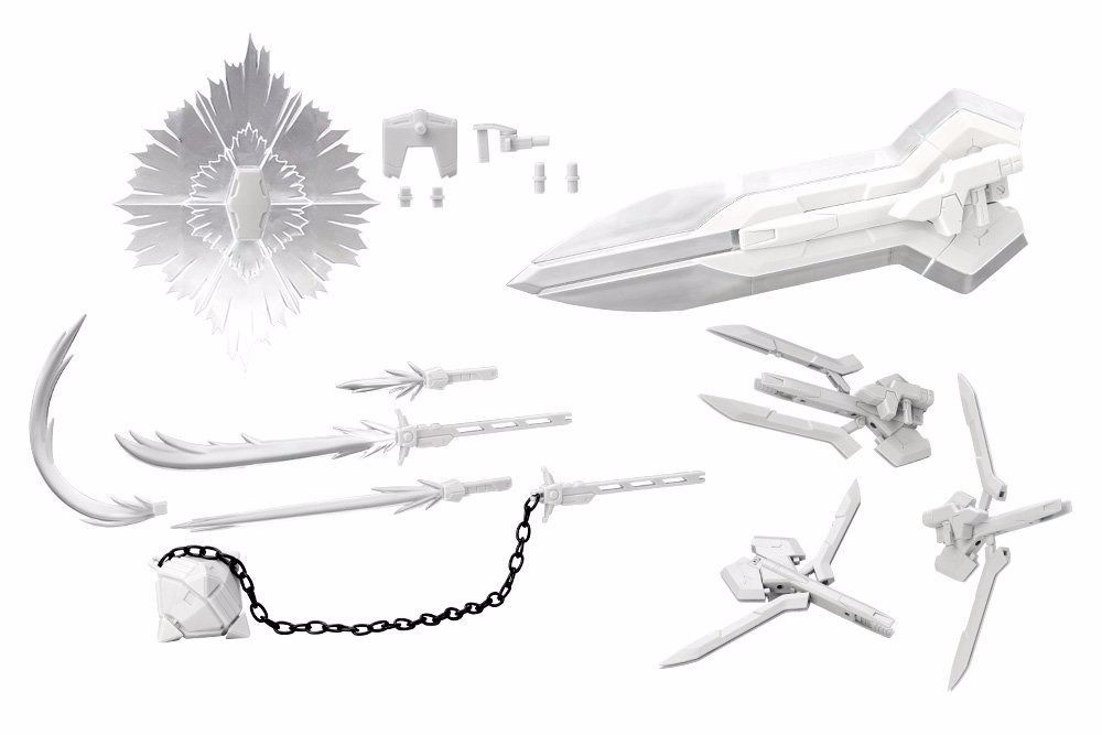 KOTOBUKIYA M.S.G Weapon Unit Assorted 01 BEAM WEAPONS Ver FME Plastic Model Kit_2