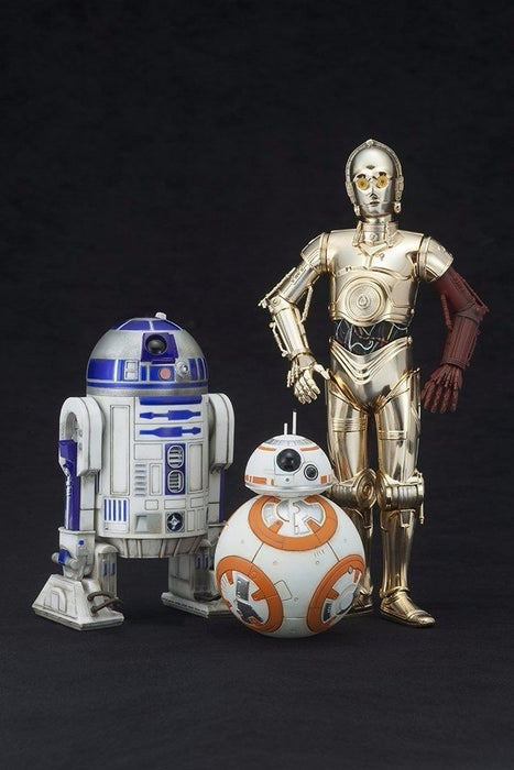 ARTFX+ Star Wars The Force Awakens R2-D2 & C-3PO with BB-8 1/10 PVC Figure NEW_2