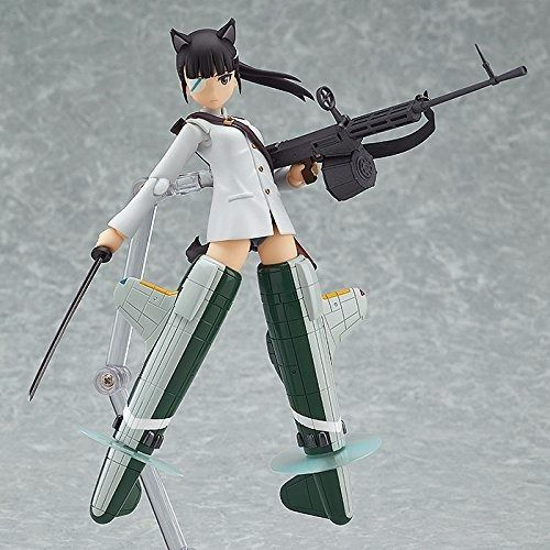 figma 282 Strike Witches MIO SAKAMOTO Action Figure Max Factory NEW from Japan_2