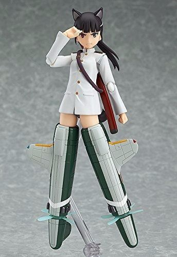 figma 282 Strike Witches MIO SAKAMOTO Action Figure Max Factory NEW from Japan_5
