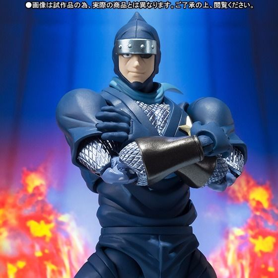 S.H.Figuarts Kinnikuman THE NINJA Action Figure BANDAI TAMASHII NATIONS NEW_6