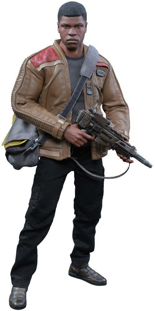 Movie Masterpiece Star Wars The Force Awakens FINN1/6 Action Figure Hot Toys NEW_1