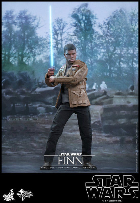 Movie Masterpiece Star Wars The Force Awakens FINN1/6 Action Figure Hot Toys NEW_2