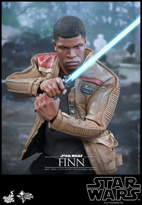 Movie Masterpiece Star Wars The Force Awakens FINN1/6 Action Figure Hot Toys NEW_3