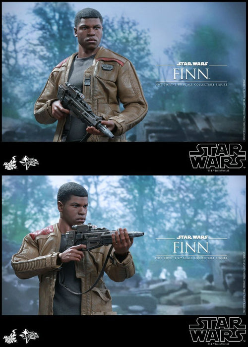 Movie Masterpiece Star Wars The Force Awakens FINN1/6 Action Figure Hot Toys NEW_5