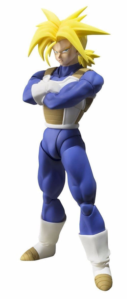 S.H.Figuarts Dragon Ball Z SUPER SAIYAN TRUNKS Action Figure BANDAI NEW Japan_1