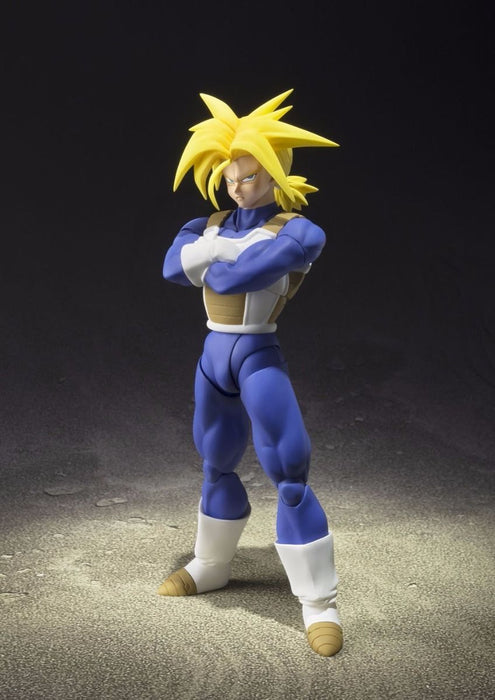 S.H.Figuarts Dragon Ball Z SUPER SAIYAN TRUNKS Action Figure BANDAI NEW Japan_2
