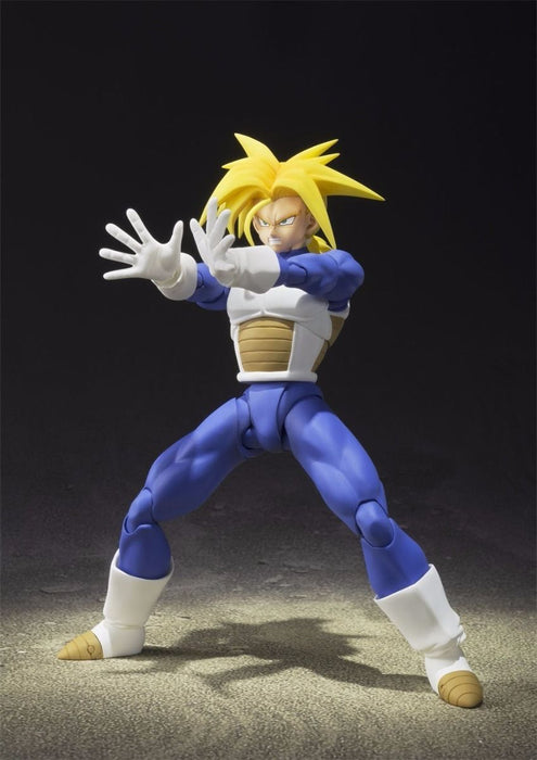 S.H.Figuarts Dragon Ball Z SUPER SAIYAN TRUNKS Action Figure BANDAI NEW Japan_4
