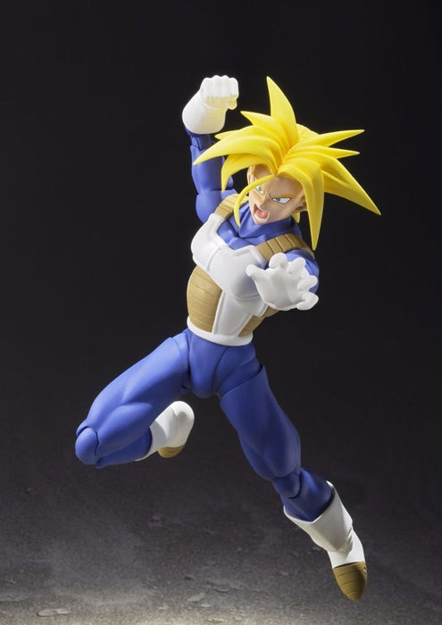 S.H.Figuarts Dragon Ball Z SUPER SAIYAN TRUNKS Action Figure BANDAI NEW Japan_5