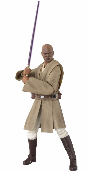 S.H.Figuarts Star Wars Episode 1 MACE WINDU Action Figure BANDAI NEW from Japan_1