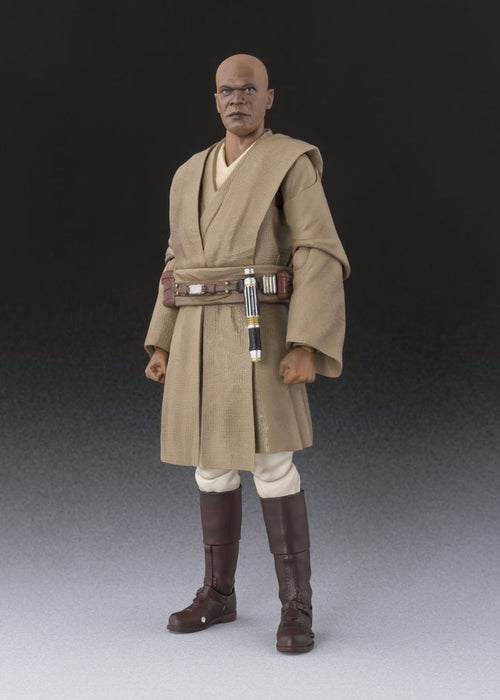 S.H.Figuarts Star Wars Episode 1 MACE WINDU Action Figure BANDAI NEW from Japan_2