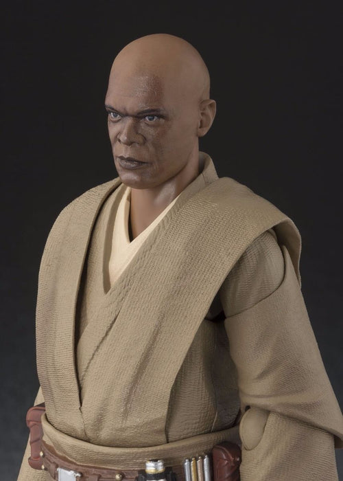 S.H.Figuarts Star Wars Episode 1 MACE WINDU Action Figure BANDAI NEW from Japan_3