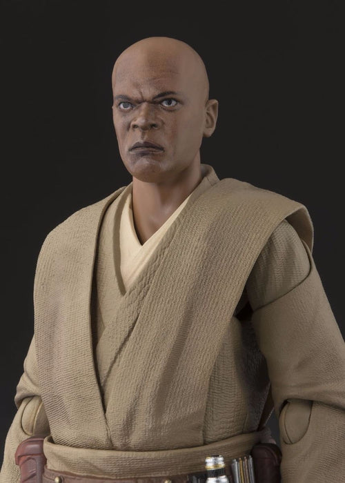 S.H.Figuarts Star Wars Episode 1 MACE WINDU Action Figure BANDAI NEW from Japan_4