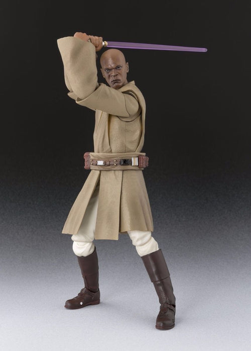 S.H.Figuarts Star Wars Episode 1 MACE WINDU Action Figure BANDAI NEW from Japan_5