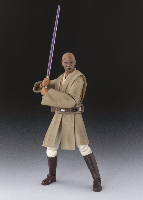S.H.Figuarts Star Wars Episode 1 MACE WINDU Action Figure BANDAI NEW from Japan_6