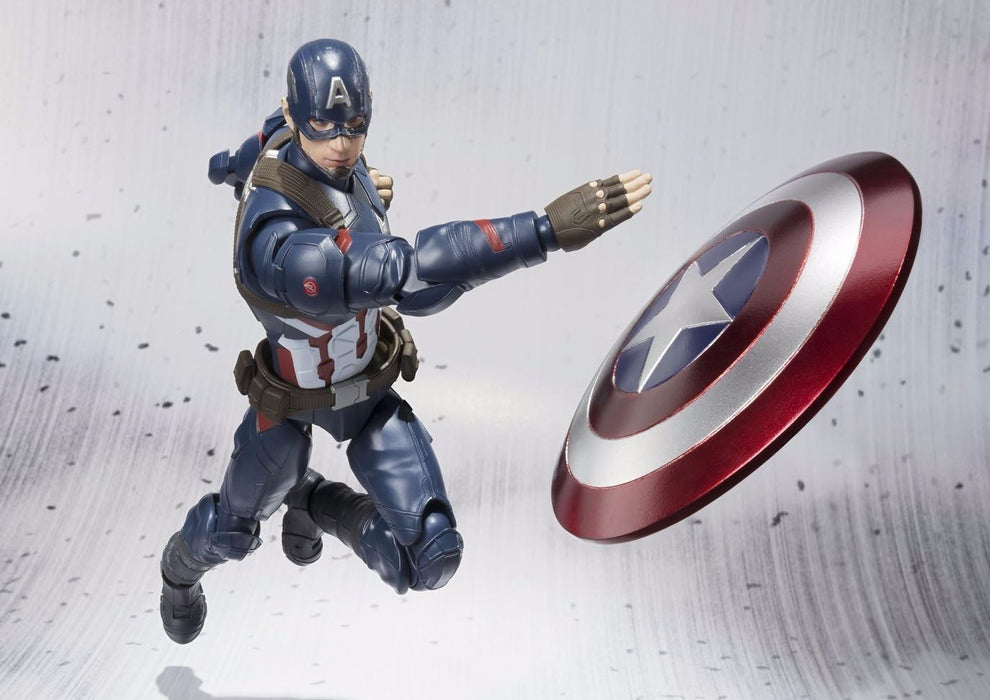 S.H.Figuarts CAPTAIN AMERICA CIVIL WAR Ver Action Figure BANDAI NEW from Japan_10