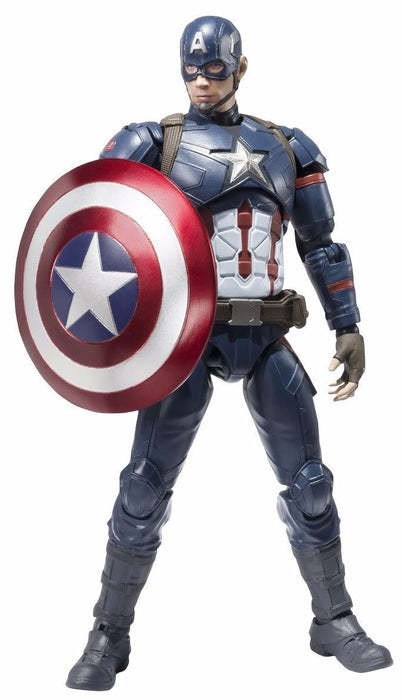 S.H.Figuarts CAPTAIN AMERICA CIVIL WAR Ver Action Figure BANDAI NEW from Japan_1