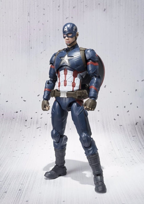 S.H.Figuarts CAPTAIN AMERICA CIVIL WAR Ver Action Figure BANDAI NEW from Japan_2