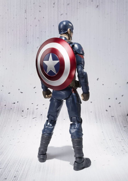 S.H.Figuarts CAPTAIN AMERICA CIVIL WAR Ver Action Figure BANDAI NEW from Japan_3