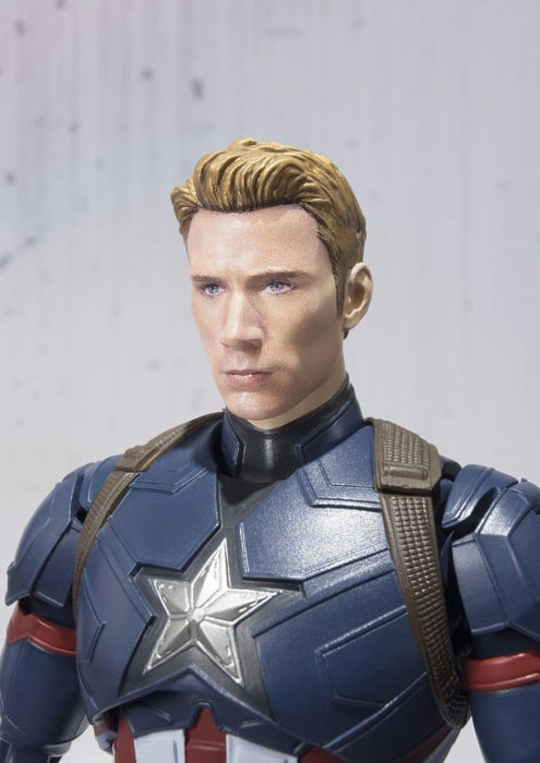 S.H.Figuarts CAPTAIN AMERICA CIVIL WAR Ver Action Figure BANDAI NEW from Japan_5