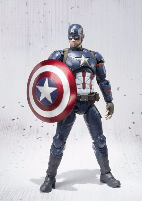 S.H.Figuarts CAPTAIN AMERICA CIVIL WAR Ver Action Figure BANDAI NEW from Japan_6