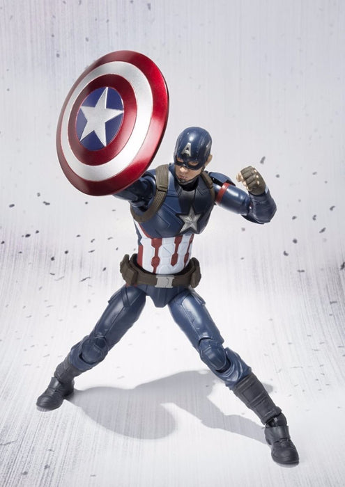 S.H.Figuarts CAPTAIN AMERICA CIVIL WAR Ver Action Figure BANDAI NEW from Japan_7