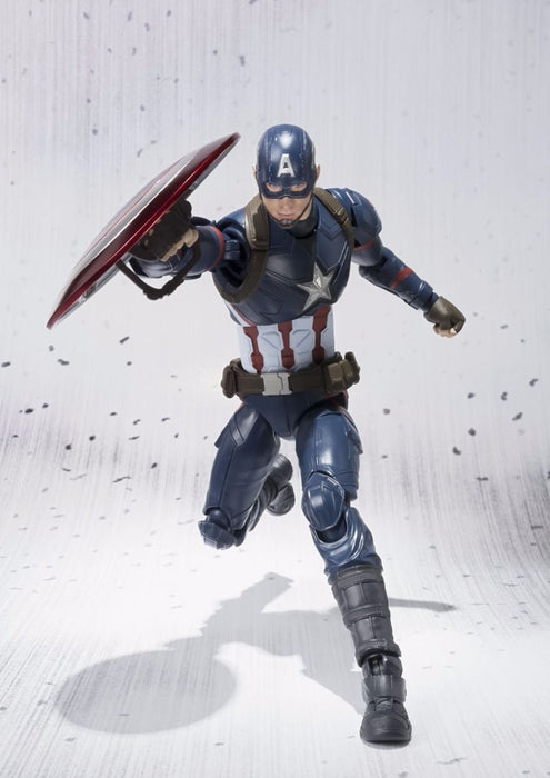S.H.Figuarts CAPTAIN AMERICA CIVIL WAR Ver Action Figure BANDAI NEW from Japan_8