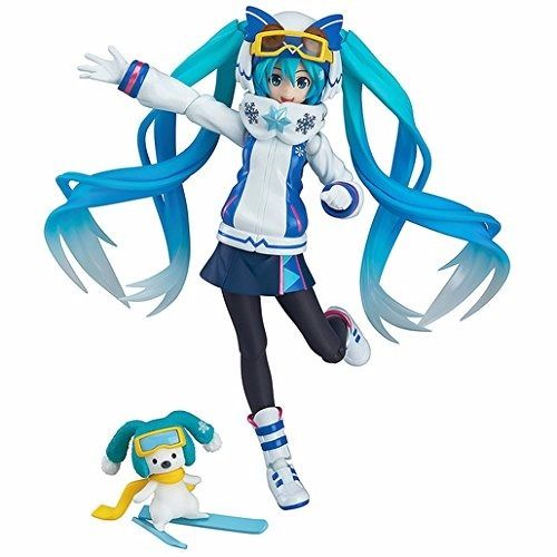 figma EX-030 VOCALOID Snow Miku Snow Owl Ver. Figure NEW from Japan_1