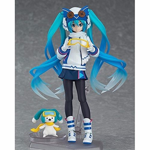 figma EX-030 VOCALOID Snow Miku Snow Owl Ver. Figure NEW from Japan_3